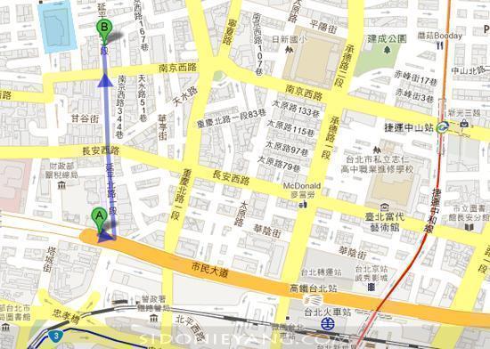 永樂市場地圖