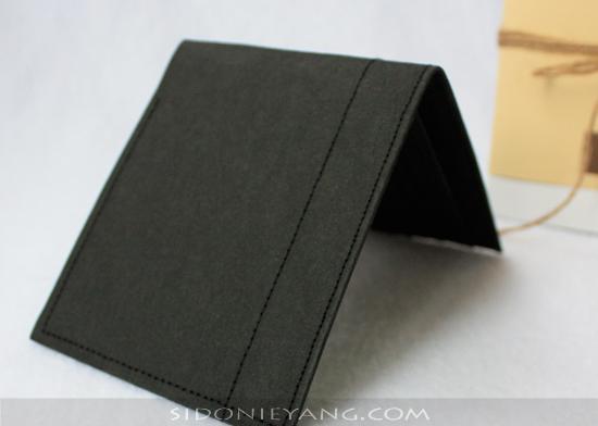 可水洗牛皮紙短夾/ 紙錢包Men's Wallet made from Washable Kraft Paper , Paper Wallet